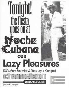 noche cubana tonight
